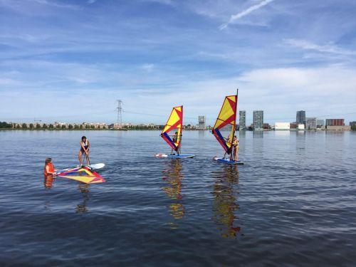 windsurfen Haddock