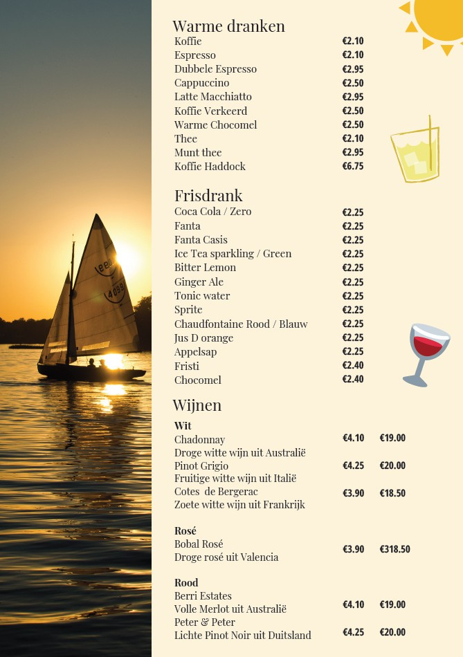 drankenkaart Haddock
